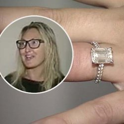 Mike Diamond Finds Fiancée's 3-Carat Diamond Engagement Ring at Waste Facility in New Jersey