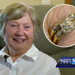 Engagement Ring Lost While Baking Cookies Turns Up 50+ Years Later During Kitchen Renovation