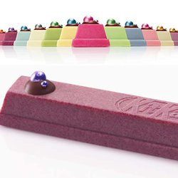 Kit Kat's Japanese Chocolatory Unveils Birthstone Series Embellished With Edible 'Jewels'