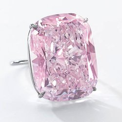 World's Largest Fancy Intense Pink Diamond Hits the Auction Block in Geneva Next Month