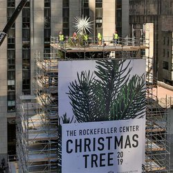 Tree Topper's Three Million Swarovski Crystals Come to Life at Rockefeller Center